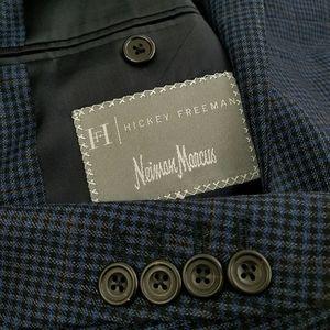 40L/42L Hickey Freeman Neiman Marcus Wool Blazer
